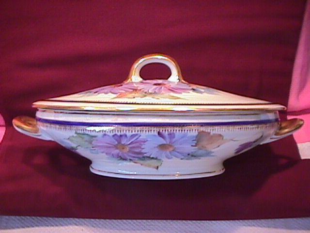Hand Painted= Altwasser, Silesia C.T. Covered Vegetable