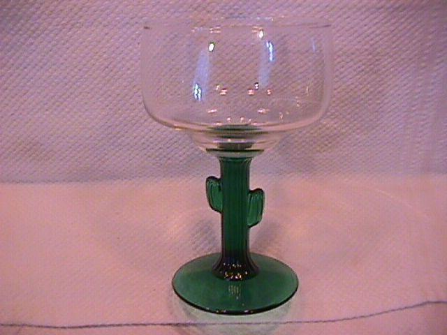Libby Rock Sharpe Crystal (Cactus) Martini Glass