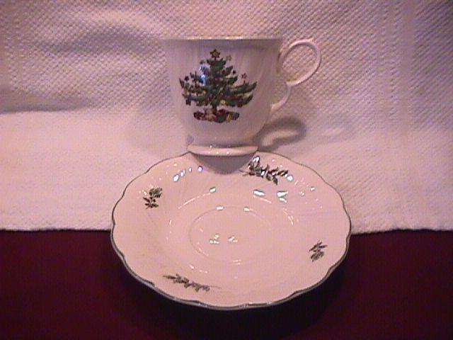 Nikko Fine China (Happy Holidays) Cup & Saucer