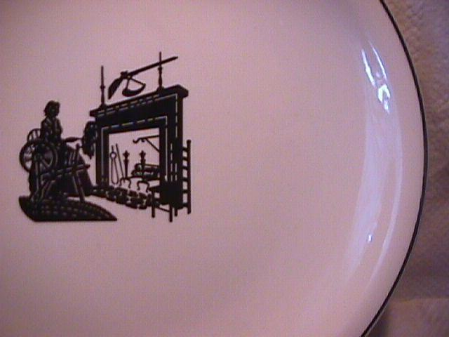 Harkerware (Colonial Lady) Fruit Saucer