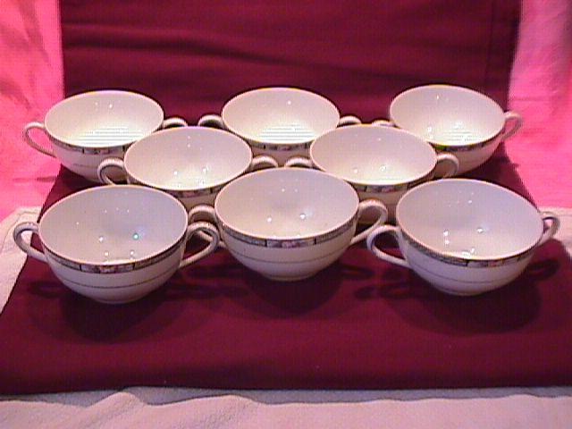 Noritake Fine China (Chanossa) Bouillon Cup Set
