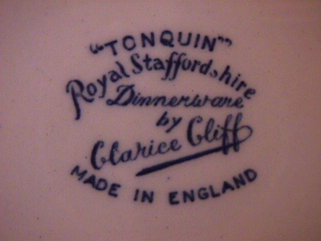 Royal Staffordshire-Clarice Cliff (Tonquin Blue) Creamer