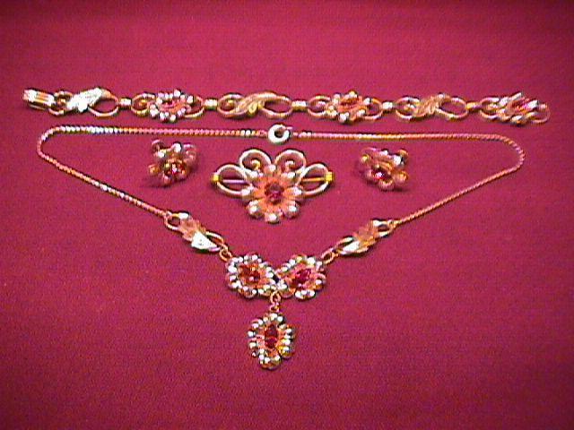 Vintage Van Dell Jewelry Set