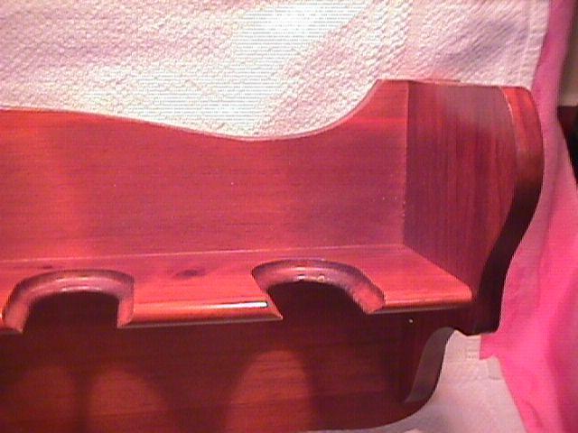 River Shore Ltd.=( Collectors Wooden- Wall -Bell Rack)