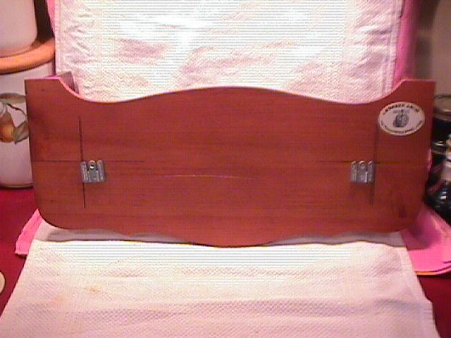 River Shore Ltd.=( Collectors Wooden- Wall -Bell Rack)