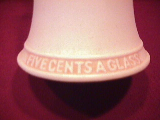 Norman Rockwell=Porcelain Bell (Five Cent a Glass )