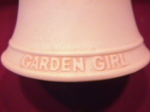 Norman Rockwell=Porcelain Bell (Garden Girl )