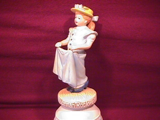 Norman Rockwell=Porcelain Bell (Dressing Up )