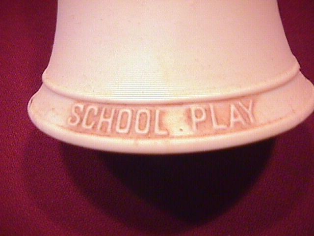 Norman Rockwell=Porcelain Bell (School Play )