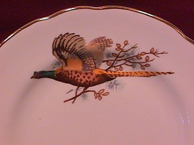 Spencer & Stevenson Co. (Pheasants) Cake Plate