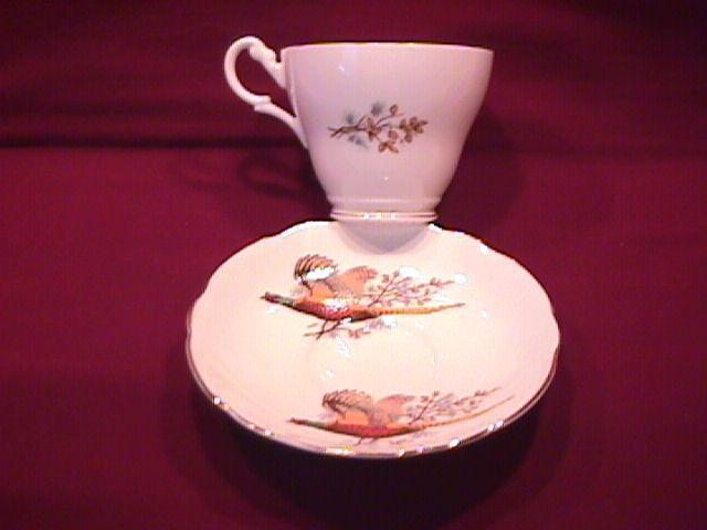 Spencer & Stevenson Co. (Pheasants) Cup & Saucer