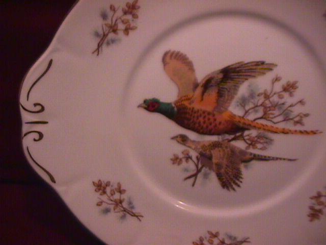 Spencer & Stevenson Co. (Pheasants) Cake Serving Plate