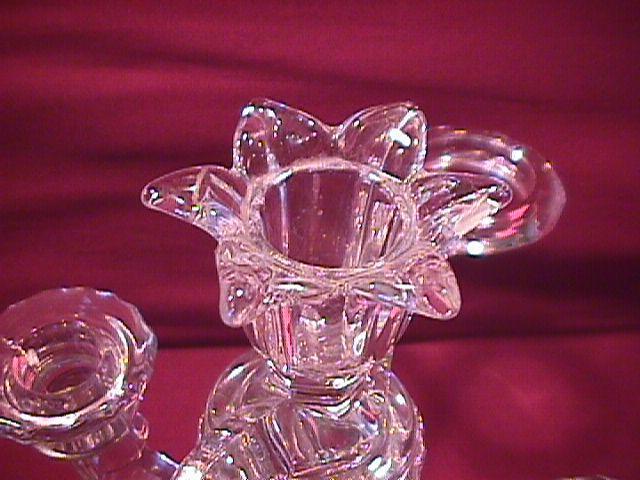 Cambridge Crystal (Diane) 3-Lite Candlestick Epergne