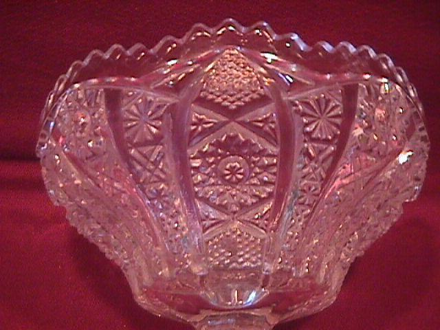 Imperial Pressed Glass (Octagon) Jelly Compote