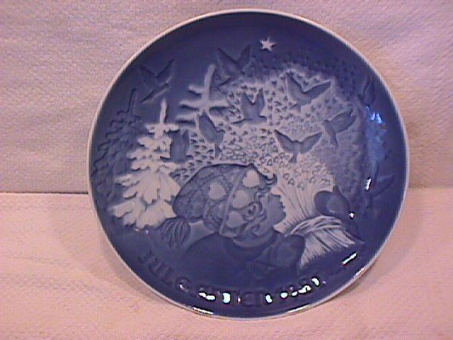 Bing & Grondahl Christmas Plate (Christmas Peace ) 1981