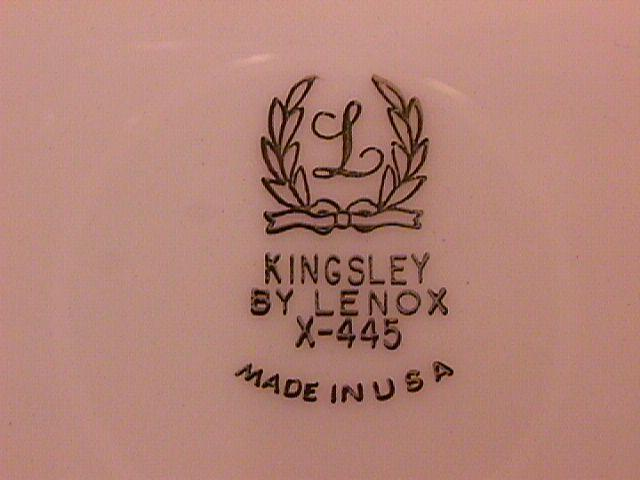 Lenox Fine China (Kingsley) Gravy Boat