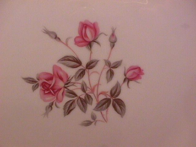Noritake Fine China (Anniversary Rose) #5516 Salad Plate