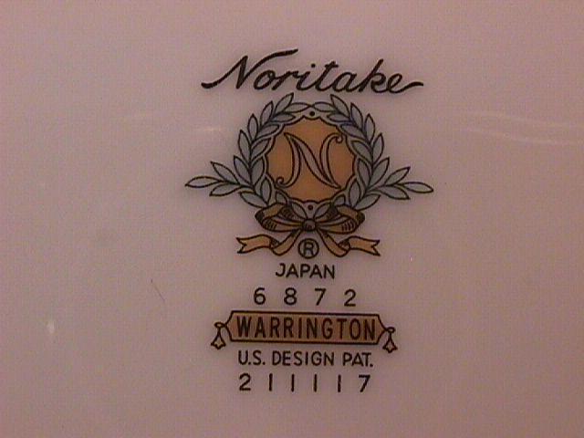 Noritake Fine China (Warrington) 1/4 Lb Covered Butter