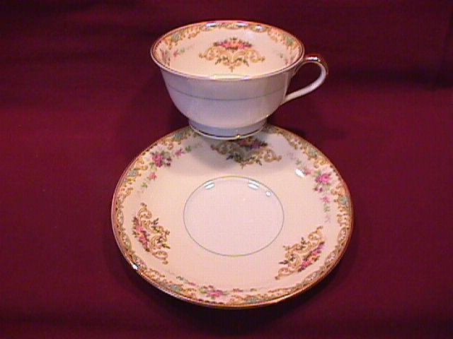 Noritake Fine China (Gloria) #95641 Cup & Saucer