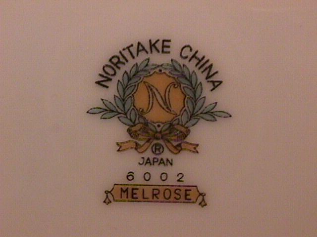 Noritake Fine China (Melrose) Dinner Plate