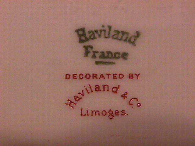Haviland Limoges (Schleiger #510) Cup & Saucer