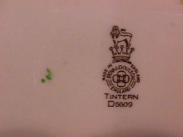 Royal Doulton China (Tintern) Dinner Plate