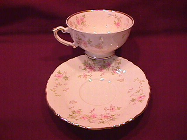 Syracuse China (Stansbury) Cup & Saucer
