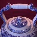 Spode Fine China (Italian Blue) Huge Kettle