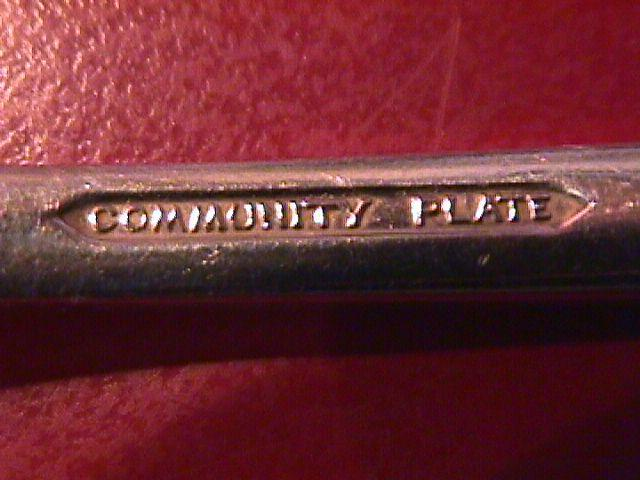 Oneida Silver Plate Community (Paul Revere 1927)  Individual Butter Spreader