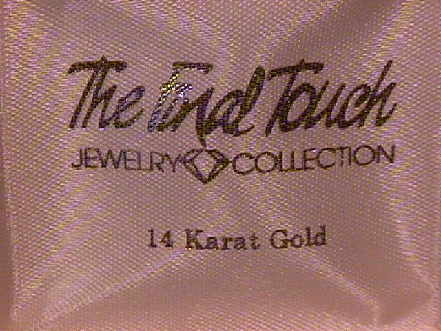 14K Gold Fancy Hoop Earrings