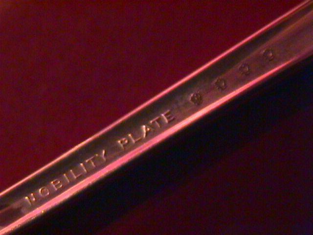 Oneida Nobility Silver Plate 1937 (Caprice) Demitasse Spoon