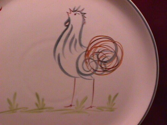 Denby Stoneware (Flair) Dinner Plate