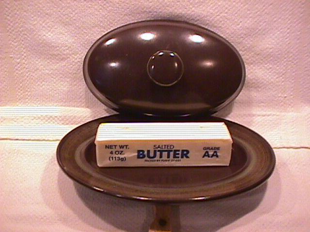 Franciscan (Madeira) Covered 1/4 Lb  Butter