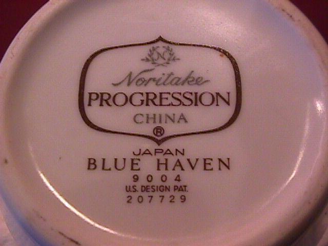 Noritake Fine China (Blue Haven) Creamer