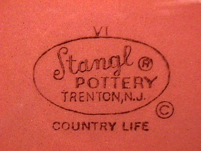 Stangl Pottery (Country Life) Covered Sugar