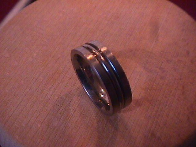 Mens (Triton) Titanium Ring