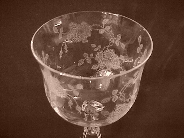 Fostoria Crystal (Willomere) Tall Champagne