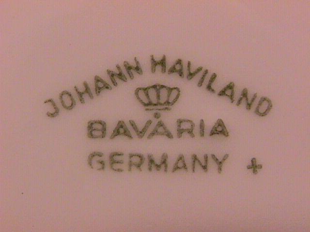 Johann Haviland Fine China (Sepia Rose) Dinner Plate