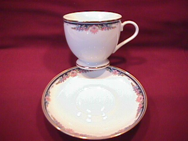Gorham Fine China (Gorham Chantilly) Cup & Saucer