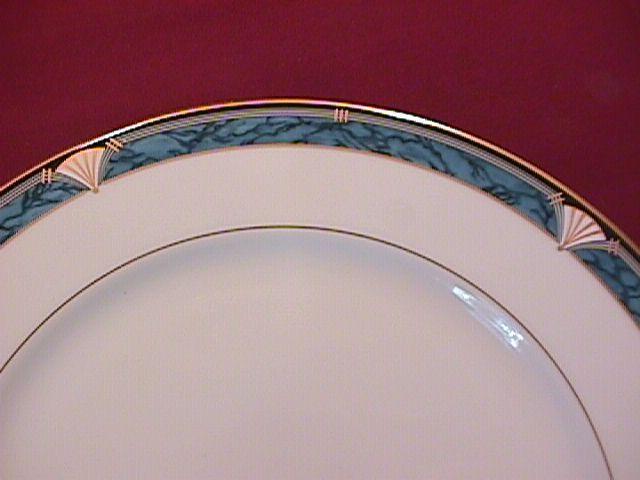 Gorham Fine China (Edgemont Gold) Cake Plate