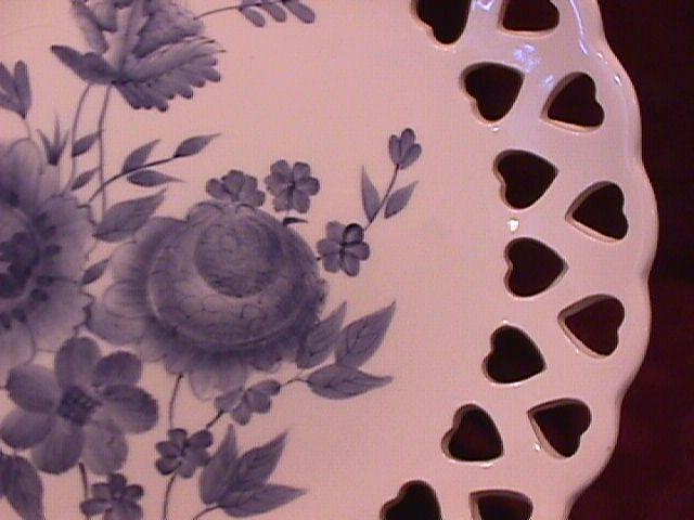 Home Interiors Fancy Decorator Plate