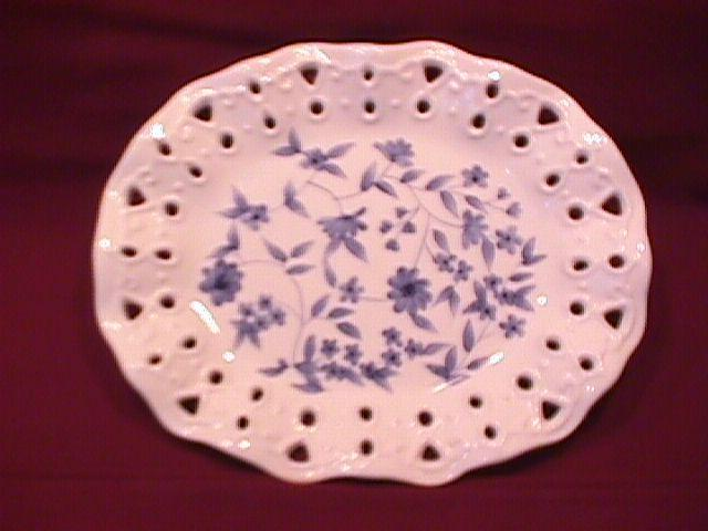 Home Interiors Fancy Oval Candies Dish