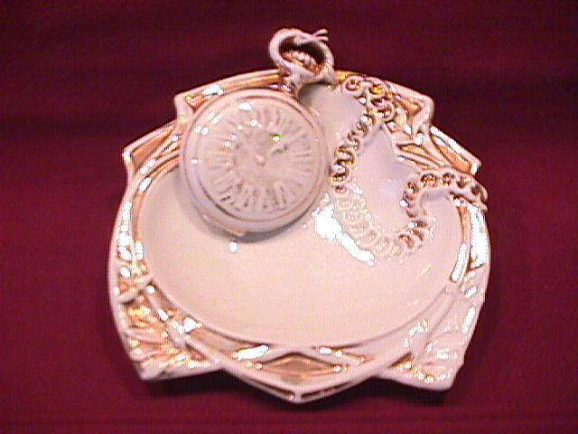 19th Century Watch Makers Business Card Dish?