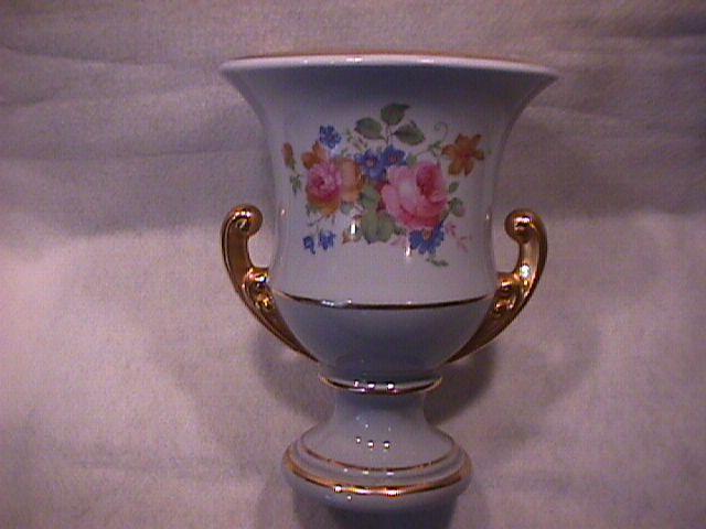 Large Porcelain (Urn Style) Console Vase