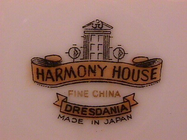 Harmony House Fine China (Dresdania) Covered Sugar
