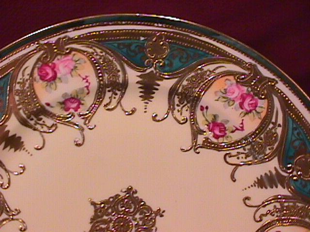 Nippon Hand-Painted Display Plate