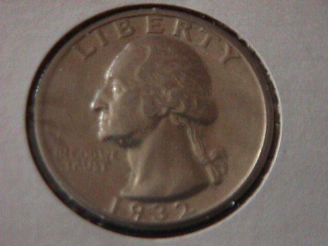 Washington Silver Quarter 1932-S MS-63 Condition