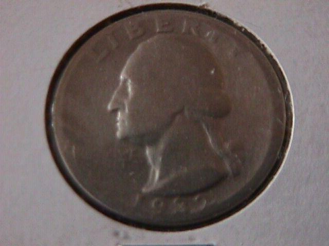 Washington Silver Quarter 1932-D  VG