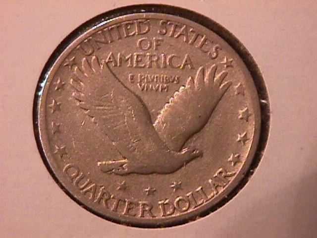 Standing Liberty Silver Quarter 1927-S Very  Fine-18