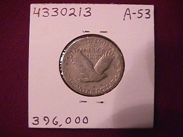 Standing Liberty Silver Quarter 1927-S   Fine
